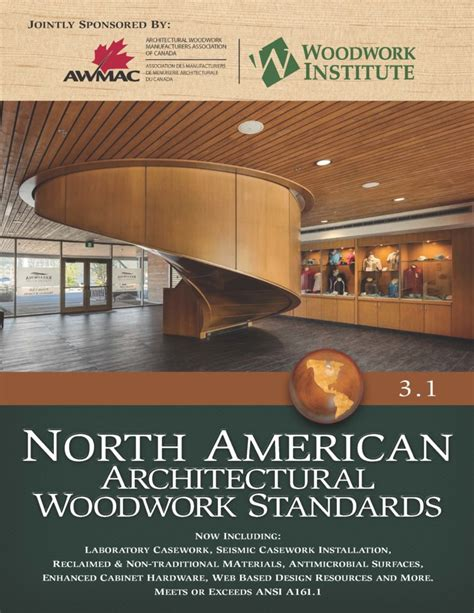 american woodwork institute american architectural woodwork standards a
