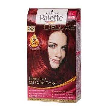 najlepsa crvena farba za kosu boja za kosu palette n678 rubin crvena konzum