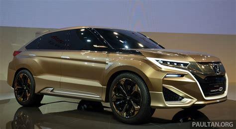 2015 Honda Suv by Shanghai 2015 Honda Concept D Previews New Suv Image 330310