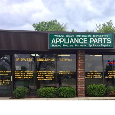 local appliance stores local appliance parts store midwest appliance service