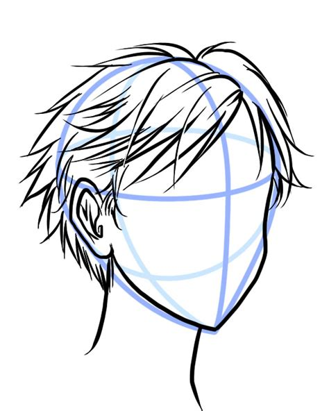 how to draw spiky anime hair drawn hair spiky hair pencil and in color drawn hair