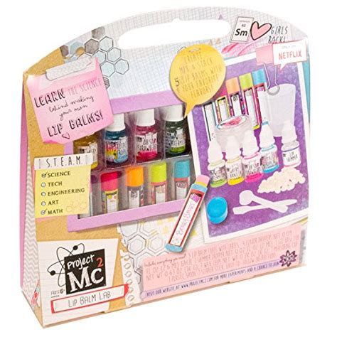 Thrifty Clever Cell Phone Lip Gloss Charms by Project Mc2 Create Your Own Lip Balm Lab Kit Import It All