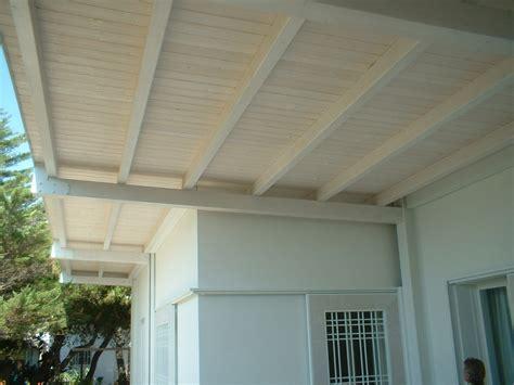 tettoie in legno bianco realizzazioni legnotecnica net con tettoia in legno