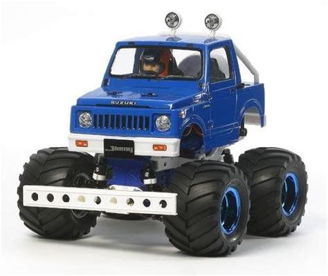 tamiya rc truck bodies tamiya 58576 1 10 rc truck kit wr02 chassis suzuki jimny