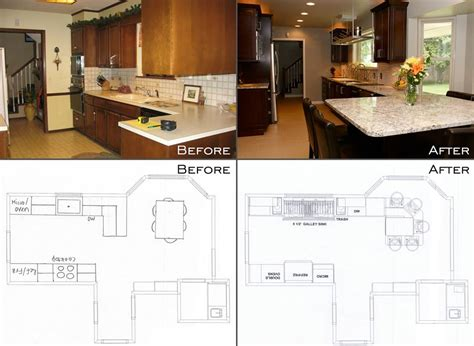 galley kitchen remodels before and after happy galley owner before after the galley blogthe