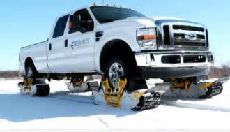 Truck Wheels Track Turn Your Truck Into A Snowmobile With The Track N Go
