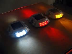 solar led driveway lights eco worthy led solar powered road stud light for driveway