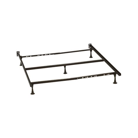 bed frame center support queen king metal frame with center support 910 bed frames price busters furniture