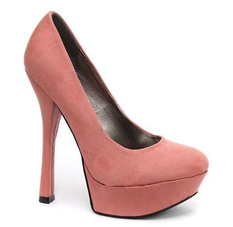 pink high platform heels 2016