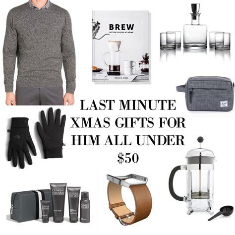 last minute christmas gifts for him all under 50 the