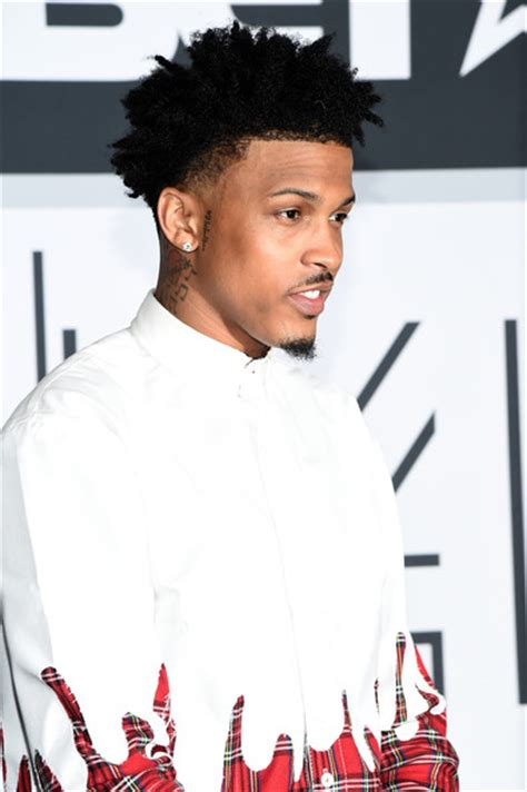 august alsaina hairstyle august alsina pictures bet awards 14 press room zimbio