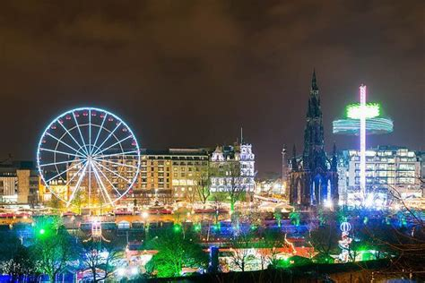 edinburgh s christmas light night programme announced