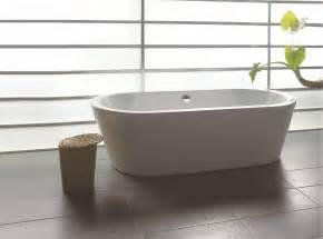 Bathtub Warehouse 71 Quot Contemporary Bathroom White Acrylic Freestanding