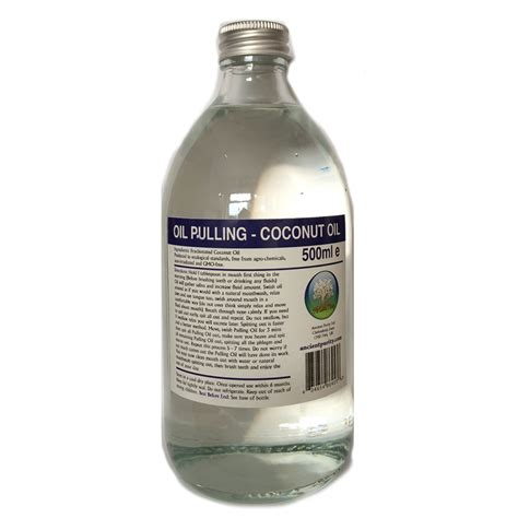 Coconut Pulling Detox Effects by Coconut For Pulling Ancient Purity