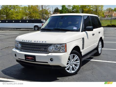 land rover supercharged white 2009 alaska white land rover range rover supercharged