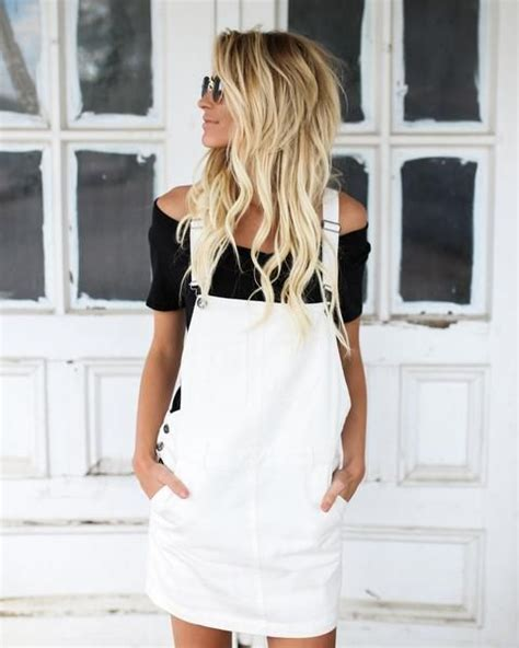 White Overall Dress best 25 overall dress ideas on denim pinafore