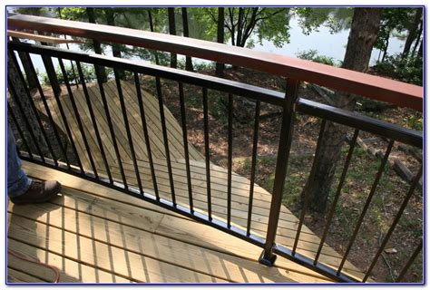 Banisters And Railings Home Depot Cable Deck Railing Home Depot Decks Home Decorating