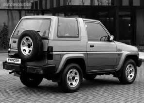 Daihatsu Feroza Specs Daihatsu Feroza Hardtop Specs 1991 1992 1993 1994