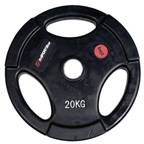 Rubber Plate Grip 3cm 20kg 20kg ergo weight plate insportline insportline