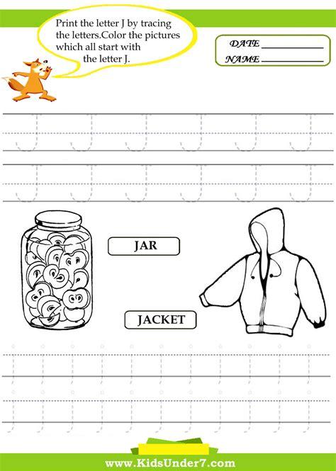 printable tracing letter j letter j tracing worksheets preschool letter j printable