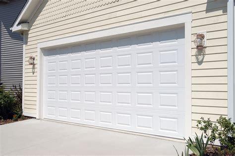 standard garage doors