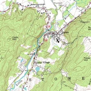 on a topographic map what is used to show elevation topographic map