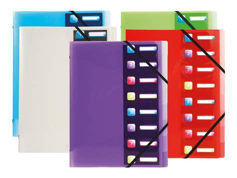 Exacompta Crystal Trieur 8 Positions A4 Trieurs Carton Trieur Bureau