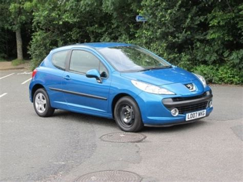 blue peugeot for sale used peugeot 207 2007 blue edition petrol for sale in