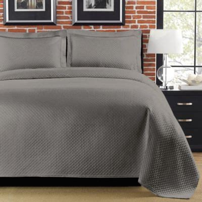 Gray Matelasse Coverlet buy matelasse coverlets from bed bath beyond