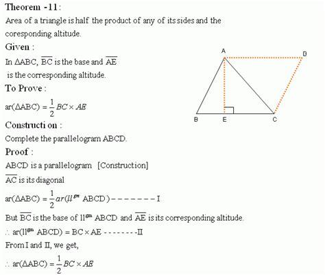 geometry tutorial questions theorem xi high school mathematics kwiznet math