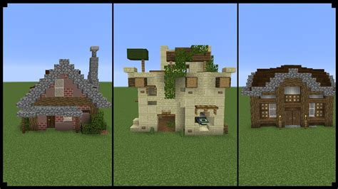 houses minecraft 10 10x10 minecraft houses youtube