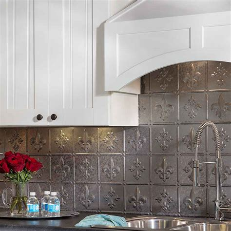 white tin backsplash backsplash ideas for kitchen home design with white cabinets best free home design idea