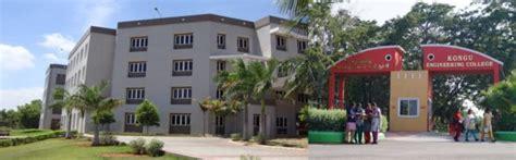 Kongu Arts And Science College Mba by Kongu Engineering College Mba Kongu Erode Admissions