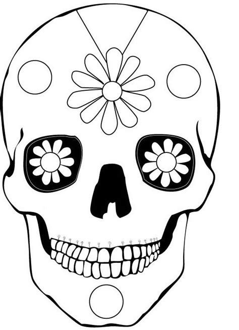 Day Of The Dead Drawings Easy by 100 Ideas To Try About Printable Sugar Skulls Coloring