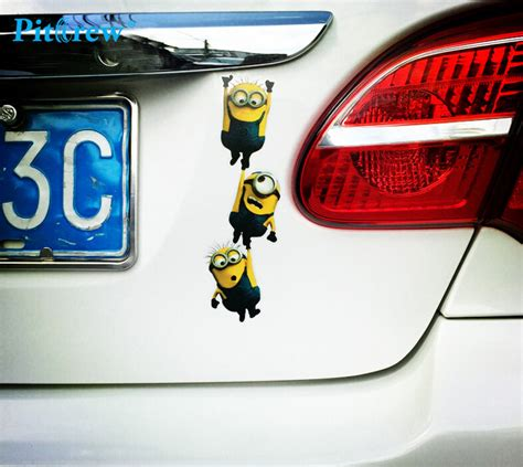 Auto Decals Kopen by Online Kopen Wholesale Minion Auto Decal Uit China Minion