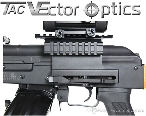 ak side mount picatinny rail 2018 vector optics tactical ak 47 74 picatinny