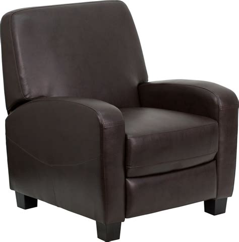 small leather recliner chair furniture gt living room furniture gt leather recliner