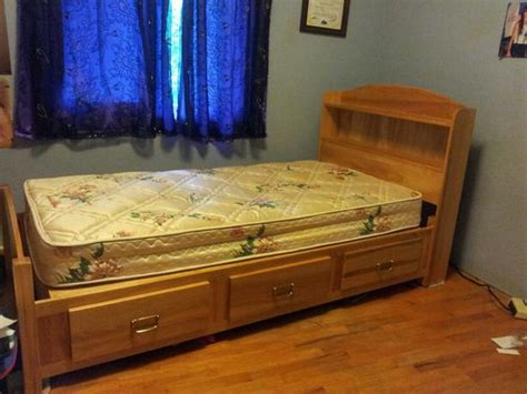 sears twin bed solid birch twin bed ensemble from sears rancho collection