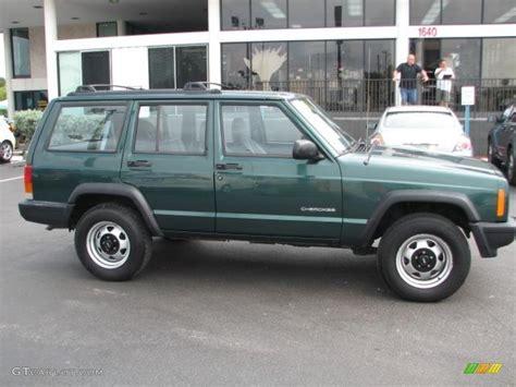 jeep cherokee green 1991 jeep cherokee specs autos post