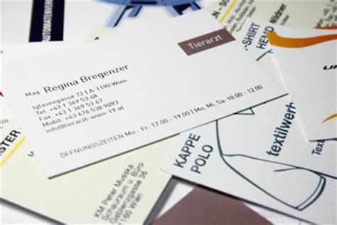 Visitenkarten Zu Hause Drucken by Visitenkarten Design Business Card Design Und Druck