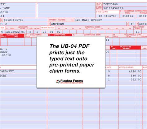 Ub 04 Pdf Fiachra Forms Charting Solutions Ub 04 Pdf Fiachra Forms Charting Solutions