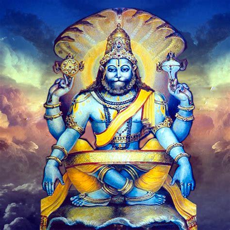 god vishnu themes download sitting lord narsimha 2048 x 2048 wallpapers