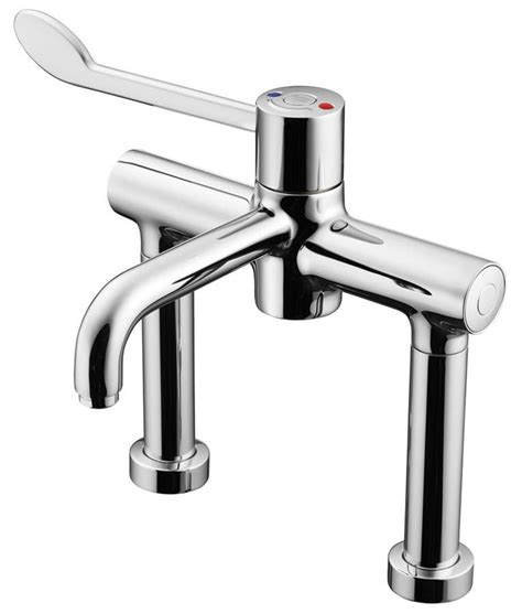 Kitchen Wall Faucet armitage shanks markwik 21 thermostatic demountable pillar