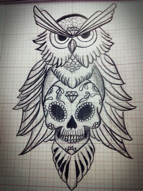skull owl tattoo owl skull tattoos designs ideas and meaning tattoos for you