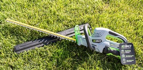 ego 56v cordless hedge trimmer review
