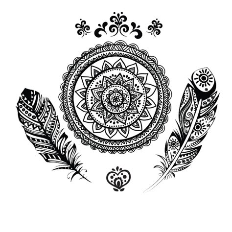 mandala tattoo png mandala tattoos png indian