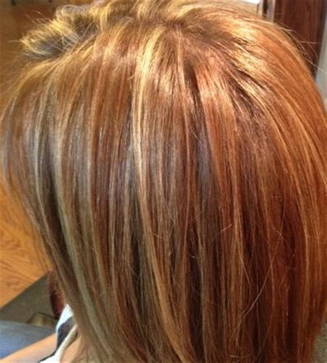 auburn hair with blonde highlights for mature women golden blonde highlights in a warm brown base with various