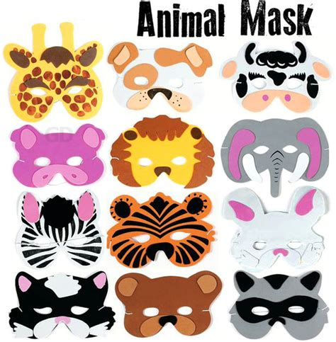 printable zoo animal masks best photos of zoo animal masks zoo animal masks for