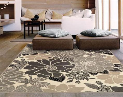 Large Living Room Area Rugs by Living Room Floor Mat Square Large Area Rug Runners Target Black White Brown Flower Pattern