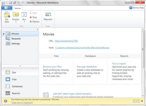 Harga Matrix Developer 9 microsoft webmatrix create customize and